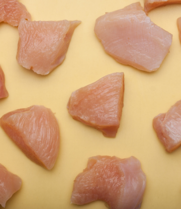 Supply Chain Scene, image of raw chicken breasts