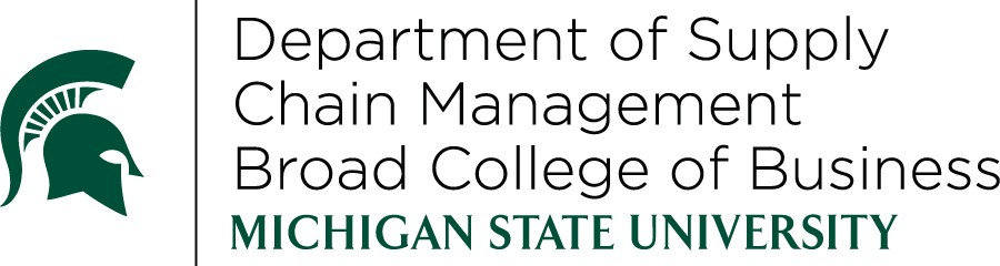 Michigan State Broad Department of Supply Chain Management logo
