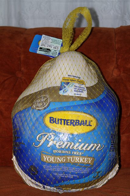 Butterball Turkey in bag