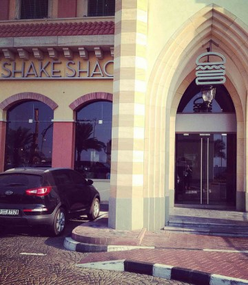 Exterior of Shake Shake in Dubai, Mercato Mall