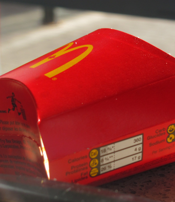 Supply Chain Scene image of a Mcdonalds french fry carton