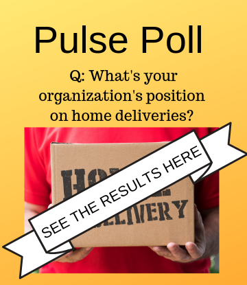 Supply Chain Scene, image of pulse poll on delivery results