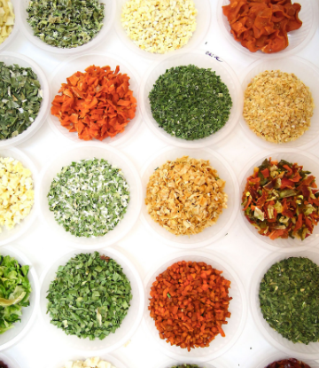 Supply Chain Scene, image of a variety of spices