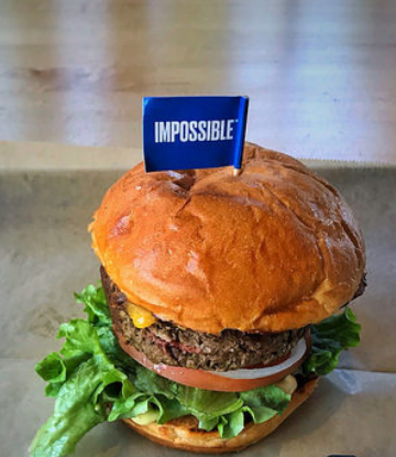 Supply chain Scene, image of an Impossible Burger
