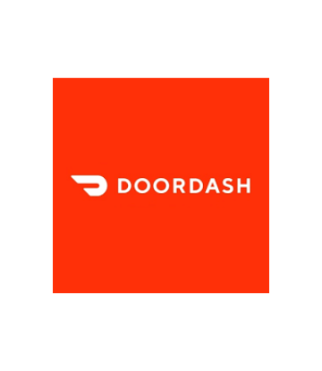 Supply Chain Scene, image of DoorDash branding