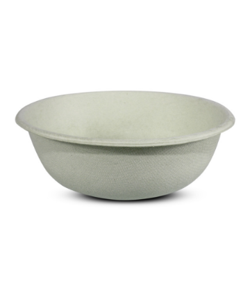 Supply Chain Scene, image of a fiber molded foodservice bowl
